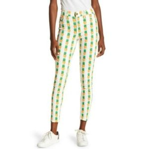 Pistola Pineapple Print Skinny Jean in Pina Colada